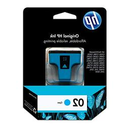 HP 02 Cyan Original Ink Cartridge  for HP Photosmart 3210 33