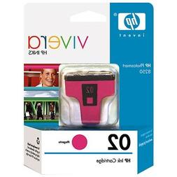 HP 02 Magenta Original Ink Cartridge  for HP Photosmart 3210