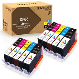 10 PK 564XL Ink Cartridges Set High Yield for HP 564 Officej