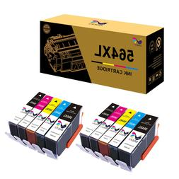 10 PK Ink Cartridges Set 564XL 564 For HP Photosmart 7525 65