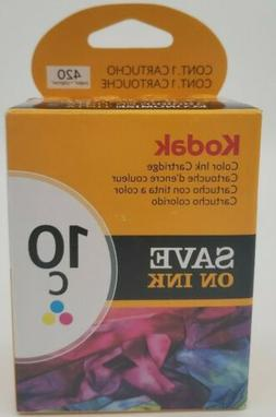 Kodak 10C Ink Cartridge - Color - 1 Year Limited Warranty