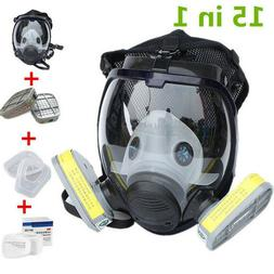 15 in 1 For 3M 6800 Facepiece Respirator Gas Mask Full Face