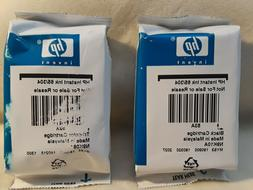 2 PACK HP #65 Black and Tri Color Ink Cartridge N9K01AN NEW