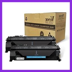 2 Pack Compatible Replacement For HP 05A CE505A Toner Cartri