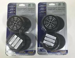 MSA Safety Works Respirator Replacement Cartridges Model 00