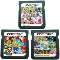 208/482/520 In 1 DS Game Cartridge Fit For NDS NDSL NDSI 3DS