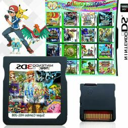 208 482 520 in1 Game Card Multicart Cartridge Console for Ni
