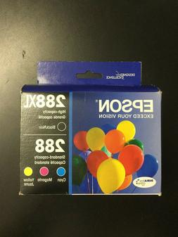 Epson - 288 4-pack Ink Cartridges