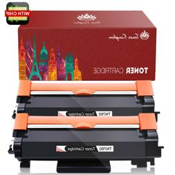 2PK New TN760 Toner with Chip for Brother TN730 MFC-L2710DW