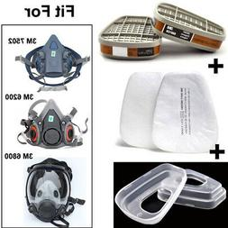 3M 5N11 Filters & 501 Cover & 6001 Cartridges For 3M 7502/62