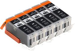 Blake Printing Supply 5 Big Black Compatible Ink Cartridges