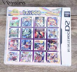 500 Games IN 1 Cartridge Multicart For Nintendo DS NDS NDSL