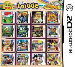 500in1 Video Game Card Games Cartridge Multicart For DS NDS