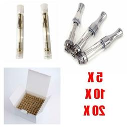 510 Thread Vape1 Pen Oil Cartridge CBD Coil Tank G2 1ML 92A3