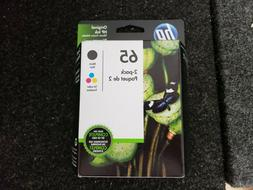 HP 65 Black & Tri-color Ink Cartridge Twin 2-pack NEW SEALED