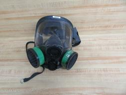 North Safety 760008A Full Face Respirator W/ Filter Cartridg
