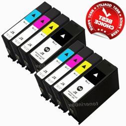 8 Pack 100XL Ink Cartridge For Lexmark S301 S305 S405 S505 S