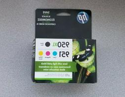 HP INK 950XL/951 Combo Pack Ink Cartridge, Black/Cyan/Magent