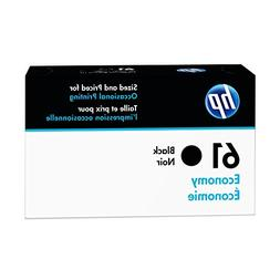HP 61 Economy Black Ink Cartridge  for HP Deskjet 1000 1010