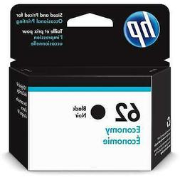 HP 62 Ink Cartridge Black Economy  for HP Envy 5540 5541 554