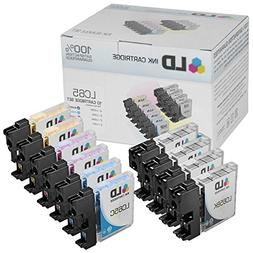 LD Compatible Ink Cartridge Replacement for Brother LC65 Hig
