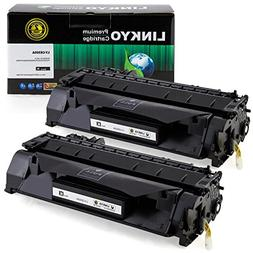 LINKYO Compatible Toner Cartridge Replacement for HP 05A CE5