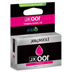 Lexmark high yield 100XL Magenta ink cartridge