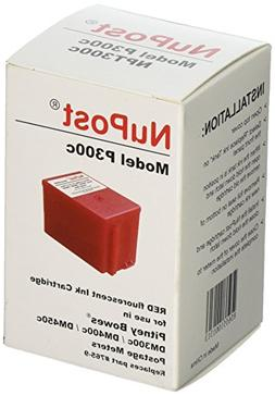 NuPost NPT300C Compatible Red Ink Cartridge Replacement for