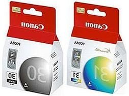 Pack Canon PG-30 Black and CL-31 Color Printer Ink Cartridge