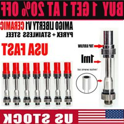Amigo V1 CERAMIC Itsuwa Liberty 1ML/0.5ML Glass Vapee cartri