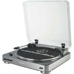AUDIO TECHNICA AT-LP60 Fully Automatic Belt-Driven Turntable