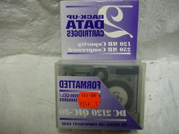 Blank Tapes & Data Cartridges 120MB Max. Storage Capacity DC