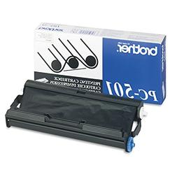 Brother PC501 Black Ribbon Cartridge for Brother FAX 575 Fax