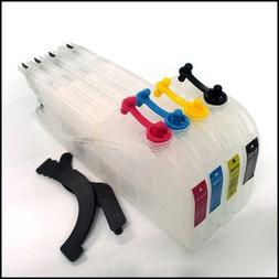Brother LC71 LC75 LC79 Ink cartridges - Empty refillable CIS