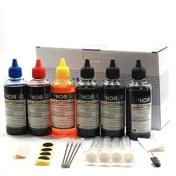Printer Ink by BCH - to Refill All CAN Printers: Pixma MG PG