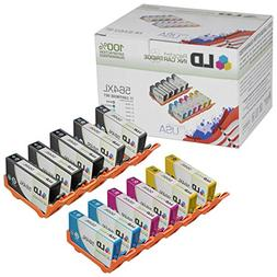 Remanufactured Bulk Set of 11 Replacement Ink Cartridges for