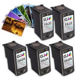 Canon #PG-40 & #CL-41 Remanufactured Combo Set - 3 Black #PG