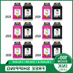 New Chip Combo Black & Color Ink Cartridge for HP 61XL 63XL