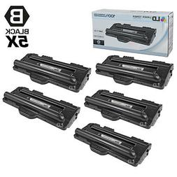 Compatible Replacements for Samsung ML-1710D3 Set of 5 Black