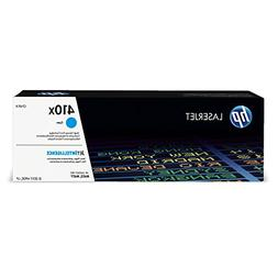 HP 411X Cyan Original Toner Cartridge in Retail Packaging, C