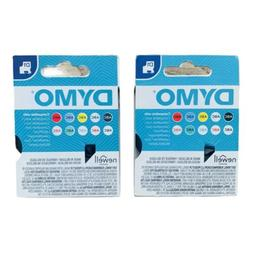 DYMO Standard D1 Labeling Tape Black print on White 1/2'' W