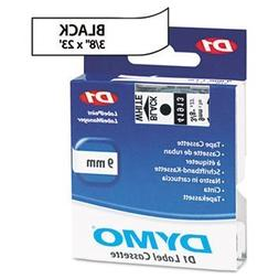 3 Pack D1 Standard Tape Cartridge for Dymo Label Makers, 3/8