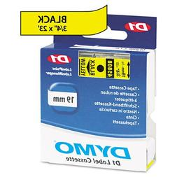 D1 Standard Tape Cartridge for Dymo Label Makers, 3/4in x 23