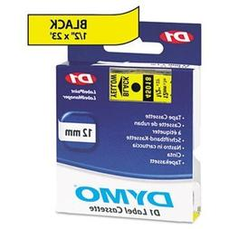 3 Pack D1 Standard Tape Cartridge for Dymo Label Makers, 1/2