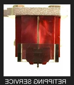 Denon DL-110 Moving Coil Cartridge Nude True Ellipsoid Diamo