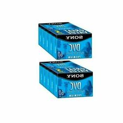 Sony DVC60PRL Mini DV Tape 60min Premium Data Cartridge 10 P