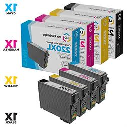 Remanufactured Epson 220XL Set of 4 HY Ink Cartridges Includ
