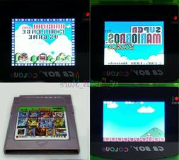 Gameboy games 116 In 1 Cartridge Multicart For GBC GBASP Adv