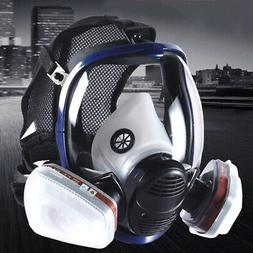 Safety Gas Mask Respirator Full Face Protect Painting Sprayi