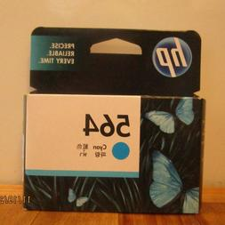 Genuine HP 564 Cyan Inkjet Cartridge • SEALED • Date: 5/